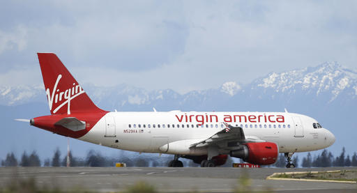 Alaska air virgin america