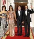 Barack Obama, Michelle Obama, Matteo Renzi, Agnese Landini