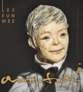 "This image, provided by her agency Neobiz, shows the cover of Lee Eun-mi's new EP ""Amor Fati."""