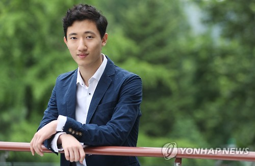 Ballerino Jun Joon-hyuk poses for a photo prior to an interview with Yonhap News Agency in Seoul on July 18, 2016.