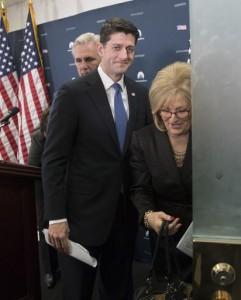 Paul Ryan, Diane Black, Kevin McCarthy