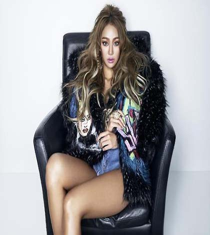 Hyolyn of girl group Sistar