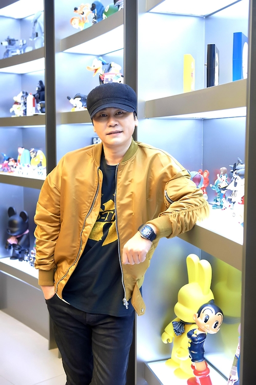 This photo provided by YG Entertainment shows Yang Hyun-suk, CEO and chief producer of the entertainment agency.