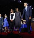 Barack Obama, Michelle Obama, Malia Obama, Joe Biden, Jill Biden