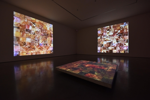 "The image provided by Gallery Hyundai shows Park Hyun-ki's ""Mandala Series: Chaos #2"" in 1997."