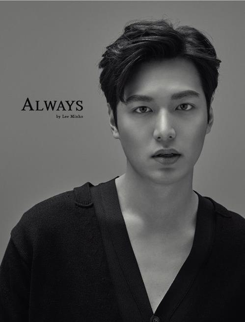 "This image provided by MYM Entertainment shows the cover for ""Always by LEE MIN HO,"" the actor's first album in two years."