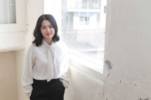 "Actress Kang Hye-jung of ""Lucid Dream"" poses for the camera before an interview with media in this photo provided by Next Entertainment World on Feb. 21, 2017."