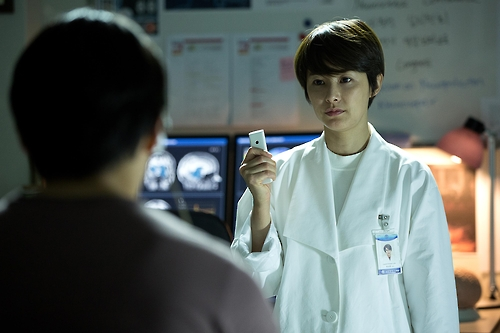 "This image released by Next Entertainment World shows Kang Hye-jung in a scene from ""Lucid Dream."""