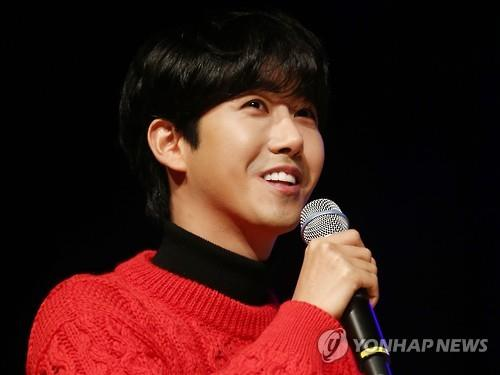 This file photo shows singer Kwanghee.