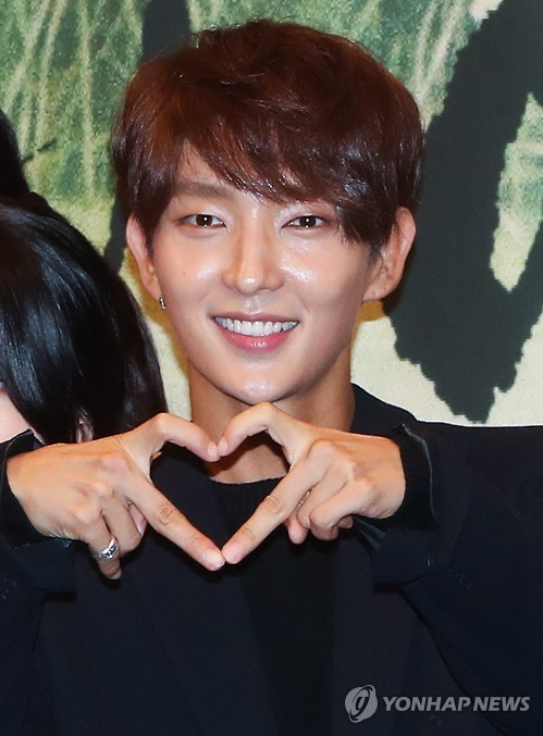 This file photo is of actor Lee Joon-gi.