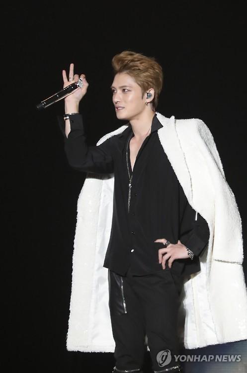 This file photo shows JYJ's Kim Jae-joong.