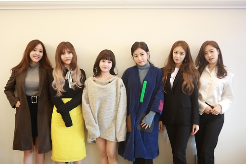 This photo provided by MBK Entertainment shows South Korean girl group T-ara.