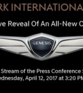 An invitation for Hyundai's press reveal of its all-new concept car at the New York Auto Show (Courtesy of Hyundai Motor)