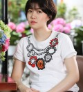 """This photo provided by Showbox on April 21, 2017, shows actress Shim Eun-kyung of """"The Mayor."""" (Yonhap)"""