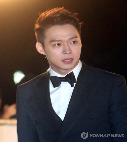 This file photo shows singer-actor Park Yu-chun. (Yonhap)