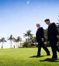 President Trump and President Xi Jinping of China at Mar-a-Lago in Palm Beach, Fla., earlier this month. Mr. Trump has urged Mr. Xi to use Beijing's leverage with North Korea. Credit Doug Mills/The New York Times