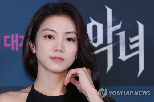 This file photo shows actress Kim Ok-vin. (Yonhap)