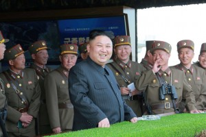 Kim Jong-un, the leader of North Korea, in April. North Korea stands accused of assassinating his estranged half brother, Kim Jong-nam, in February. Credit Korean Central News Agency, via Reuters