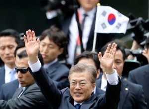 President Moon Jae-in of South Korea on Wednesday. Credit Lee Jin-Man/Associated Press