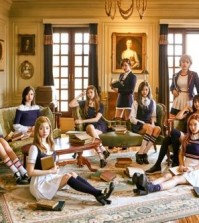 The photo provided by JYP Entertainment shows South Korean girl group TWICE. (Yonhap)