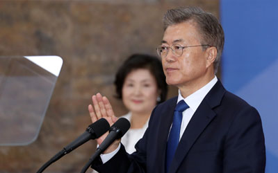 Trump invites new S. Korean president to US