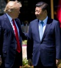 President Trump with President Xi Jinping of China at an April summit meeting at the Mar-a-Lago club in Palm Beach, Fla. Credit Doug Mills/The New York Times