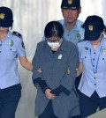 Choi Soon-sil, a longtime friend of Park Geun-hye, the ousted president, in Seoul. She was sentenced on Friday but is also charged with other, more serious crimes. Those trials are continuing. Credit Park Ji-hye/News1, via Reuters