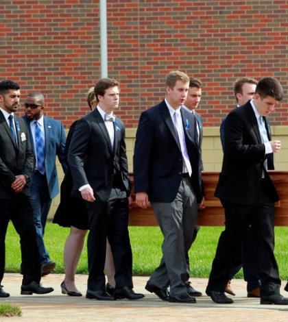 A funeral was held for Otto F. Warmbier in Wyoming, Ohio, on Thursday. Credit John Sommers Ii/Reuters