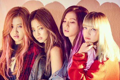 A publicity photo of BLACKPINK provided by YG Entertainment (Yonhap)