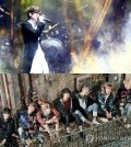 This composite image shows K-pop icon Seo Tai-ji (top) and boy band BTS (bottom). (Yonhap)