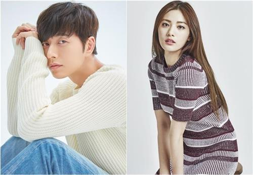 These photos provided by Victory Contents Co. and Mountain Movement Story shows South Korean actors Park Hae-jin (L) and Nana (R).