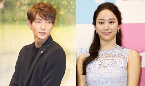 The above file photos show actor Lee Joon-gi and actress Jeon Hye-bin. (Yonhap)