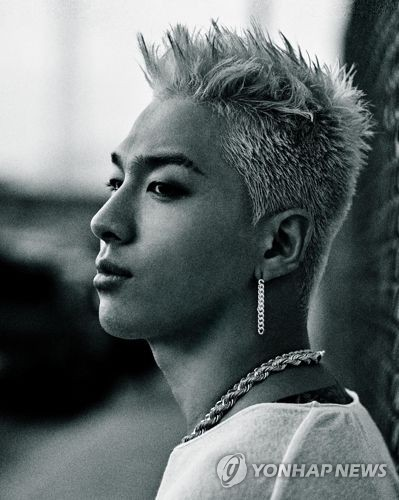 "This photo, provided by YG Entertainment, shows Taeyang of idol band BIGBANG, who released his third third full-length solo album called ""White Night,"" on Aug. 16, 2017. (Yonhap)"