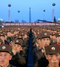 Soldiers gathered this month at Kim Il-sung Square in Pyongyang, North Korea, to celebrate the test launching of North Korea's first intercontinental ballistic missile. Credit Jon Chol Jin/Associated Press