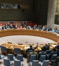 The United Nations Security Council unanimously voted on Saturday to impose new sanctions on North Korea. Credit Mary Altaffer/Associated Press