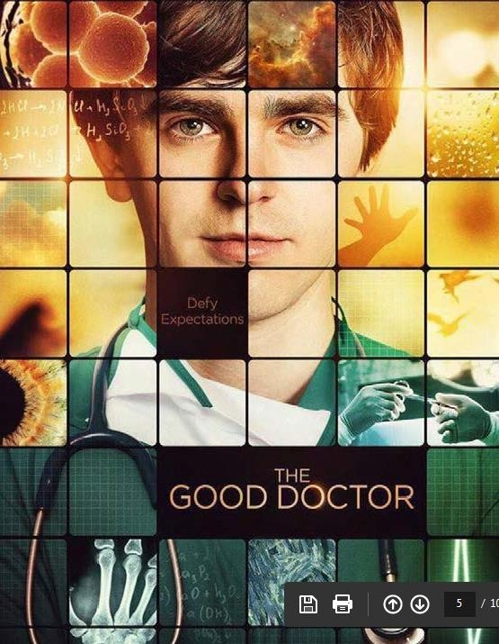 "A promotional image for ABC's upcoming TV series ""The Good Doctor"" (Yonhap) A promotional image for ABC's upcoming TV series ""The Good Doctor"" (Yonhap)"