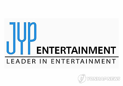 Corporate logo for JYP Entertainment (Yonhap) Corporate logo for JYP Entertainment (Yonhap)