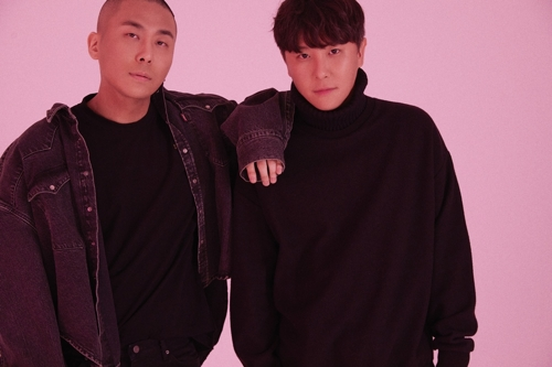 A publicity photo of song production team Black Eyed Pilseung provided by High Up Entertainment. (Yonhap)