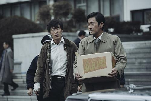 "This still released by CJ Entertainment shows a scene from ""1987: When the Day Comes."" (Yonhap)"