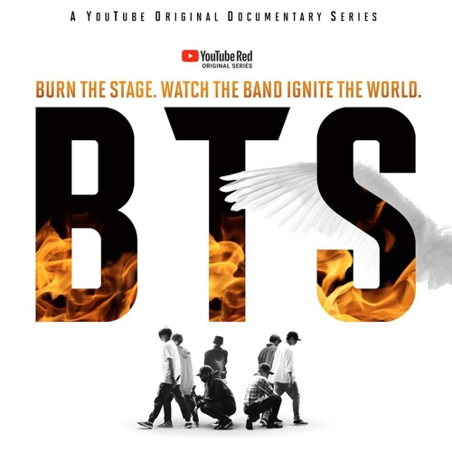 BTS original documentary series 'BTS: Burn the Stage' on YouTube Red