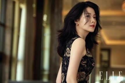 This photo provided by Elle magazine shows actress Lee Young-ae. (Yonhap)