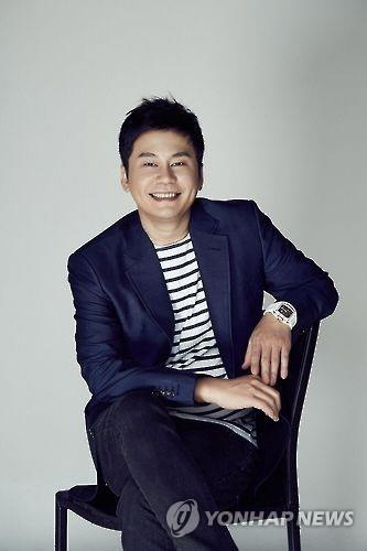 This photo shows YG Entertainment head Yang Hyun-suk. (Yonhap)