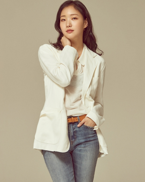 This photo provided by Megabox Plus M shows actress Kim Go-eun. (Yonhap)