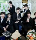 This photo of BTS is provided by Big Hit Entertainment. (Yonhap)