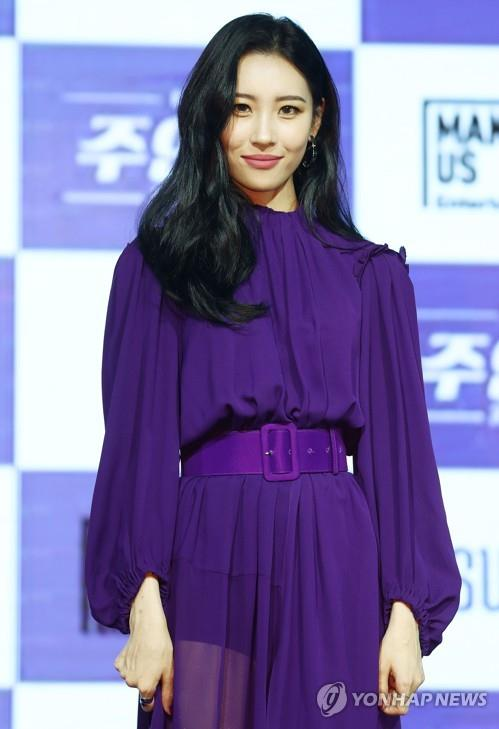 This file photo shows Sunmi. (Yonhap)