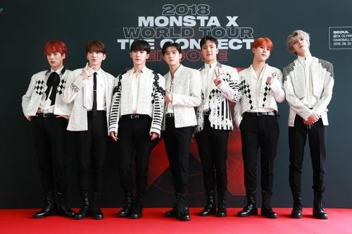 This photo of Monsta X was provided by Starship Entertainment. (Yonhap)