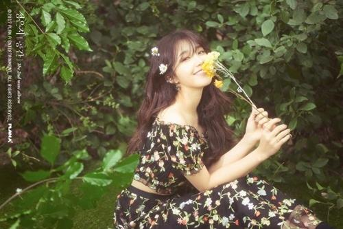 This image of Apink's Jung Eun-ji is provided by Plan A Entertainment. (Yonhap)