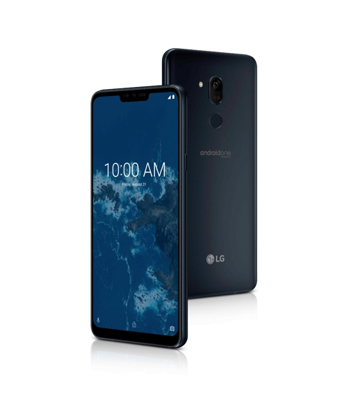 LG Electronics' G7 One smartphone (Yonhap)