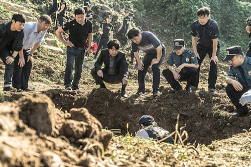 """A still from """"Dark Figure of Crime"""" (Yonhap)"""