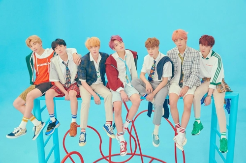 This image of the BTS members was provided by Big Hit Entertainment. (Yonhap)